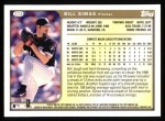 1999 Topps #273  Bill Simas  Back Thumbnail