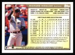 1999 Topps #407  Richard Hidalgo  Back Thumbnail