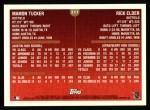 1999 Topps #217  Rick Elder / Mamon Tucker  Back Thumbnail