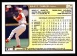 1999 Topps #145  Brett Tomko  Back Thumbnail