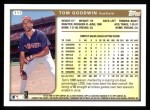 1999 Topps #111  Tom Goodwin  Back Thumbnail