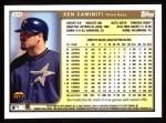 1999 Topps #375  Ken Caminiti  Back Thumbnail