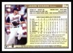 1999 Topps #37  Jason Dickson  Back Thumbnail