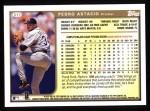 1999 Topps #317  Pedro Astacio  Back Thumbnail