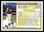 1999 Topps #173  Mike Cameron  Back Thumbnail