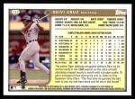 1999 Topps #123  Deivi Cruz  Back Thumbnail