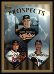 1999 Topps #210  Ryan Anderson / Bruce Chen / Chris Enochs  Front Thumbnail