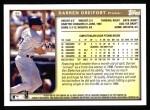 1999 Topps #49  Darren Dreifort  Back Thumbnail