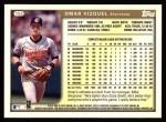 1999 Topps #152  Omar Vizquel  Back Thumbnail