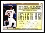 1999 Topps #11  Jose Guillen  Back Thumbnail