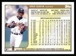 1999 Topps #153  Eric Davis  Back Thumbnail