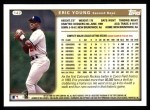 1999 Topps #142  Eric Young  Back Thumbnail