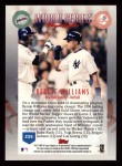 1999 Topps #235   -  Bernie Williams World Series Back Thumbnail