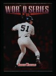 1999 Topps #235   -  Bernie Williams World Series Front Thumbnail