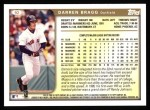 1999 Topps #92  Darren Bragg  Back Thumbnail