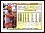 1999 Topps #399  Ivan Rodriguez  Back Thumbnail