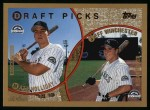 1999 Topps #442  Matt Holliday / Jeff Winchester  Front Thumbnail