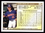 1999 Topps #386  Jose Cruz Jr.  Back Thumbnail