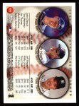 1999 Topps #451  John Olerud / Jim Thome / Tino Martinez  Back Thumbnail