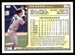 1999 Topps #143  Dan Wilson  Back Thumbnail
