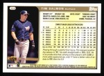 1999 Topps #360  Tim Salmon  Back Thumbnail