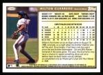 1999 Topps #246  Wilton Guerrero  Back Thumbnail