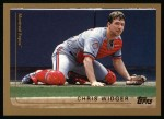 1999 Topps #387  Chris Widger  Front Thumbnail