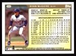 1999 Topps #303  Ryan McGuire  Back Thumbnail