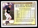 1999 Topps #155  Magglio Ordonez  Back Thumbnail