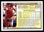 1999 Topps #159  Mike Lieberthal  Back Thumbnail