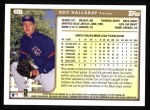1999 Topps #331  Roy Halladay  Back Thumbnail