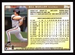 1999 Topps #377  Bill Mueller  Back Thumbnail