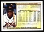 1999 Topps #327  Delino DeShields  Back Thumbnail