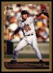 1999 Topps #180  Mike Mussina  Front Thumbnail
