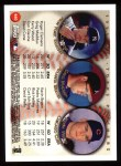 1999 Topps #460  Roger Clemens / Kerry Wood / Greg Maddux  Back Thumbnail