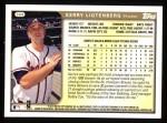 1999 Topps #368  Kerry Ligtenberg  Back Thumbnail