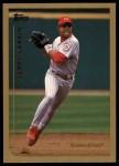1999 Topps #345  Barry Larkin  Front Thumbnail