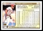 1999 Topps #345  Barry Larkin  Back Thumbnail