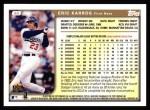 1999 Topps #63  Eric Karros  Back Thumbnail