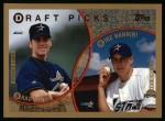 1999 Topps #441  Brad Lidge / Mike Nannini  Front Thumbnail