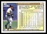 1999 Topps #190  Edgar Martinez  Back Thumbnail