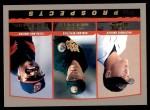 2000 Topps #446  Matt Riley / C.C. Sabathia / Mark Mulder  Front Thumbnail