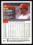 2000 Topps #23  Mark McLemore  Back Thumbnail