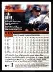 2000 Topps #193  Jeff Kent  Back Thumbnail