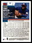 2000 Topps #439  Tony Batista  Back Thumbnail
