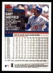 2000 Topps #105  Gary Sheffield  Back Thumbnail
