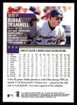 2000 Topps #257  Bubba Trammell  Back Thumbnail