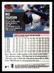 2000 Topps #338  Mo Vaughn  Back Thumbnail