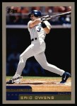 2000 Topps #307  Eric Owens  Front Thumbnail