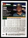 2000 Topps #27  John Jaha  Back Thumbnail